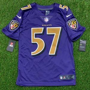 Nike Baltimore Ravens CJ Mosley 819044-567 S 57